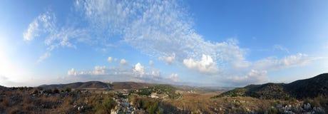 Mummel Ela Valley, Israel Fotografering för Bildbyråer