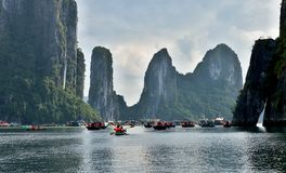 Mummel skäller länge - kryssningfartyg royaltyfri foto