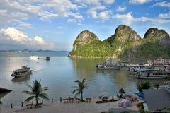 Mummel skäller länge sikten, Vietnam arkivfoton