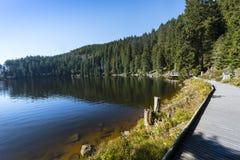 Mummelsee - Baden Wuerttemberg, Duitsland stock foto