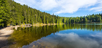 The Mummelsee,_Black Forest, Baden-Wuerttemberg, Germany Royalty Free Stock Image