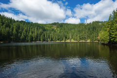 The Mummelsee near Seebach Royalty Free Stock Photography