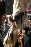 Mummer mask and costume Stock Photos