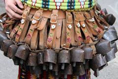 Mummers bells Royalty Free Stock Photo