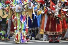 Mummers de Philadelphfia Foto de Stock