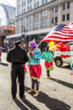 Mummers parada 2015 obrazy royalty free