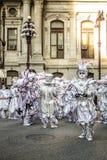Mummers ståtar 2015 fotografering för bildbyråer