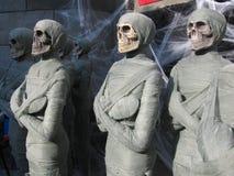 mummia attendente al sole Fotografia Stock Libera da Diritti