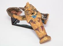 Mummia in cofanetto immagini stock