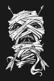 Mummia con la freccia Immagini Stock Libere da Diritti