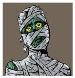 Mummia confusa Fotografia Stock