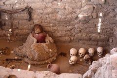 Mummia del Inca Fotografie Stock Libere da Diritti