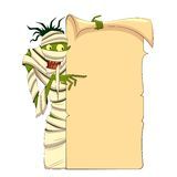 Mummia di Halloween Fotografie Stock