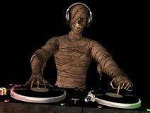 Mummia DJ Fotografia Stock Libera da Diritti