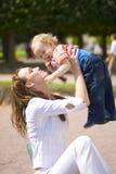 Mummia e bambino fotografia stock libera da diritti