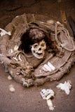 Mummia, Nazca, Perù immagini stock libere da diritti