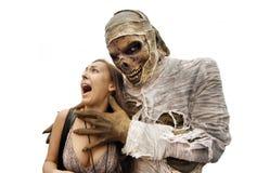 Mummie e giovane donna Immagine Stock Libera da Diritti