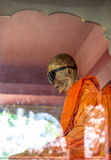 Mummified monk body, Koh Samui island Royalty Free Stock Photo