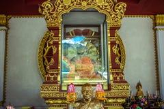 Mummified monk body on Koh Samui Thailand. Mummified monk body, Koh Samui , Thailand royalty free stock photography