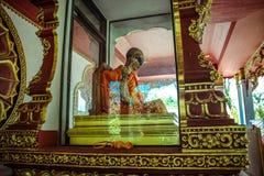 Mummified monk body on Koh Samui Thailand. Mummified monk body, Koh Samui , Thailand stock images