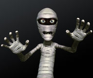 Mummy. 3 d cartoon Halloween mummy Royalty Free Stock Photos