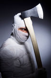 Mummy with axe Stock Photos