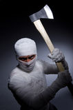 Mummy with axe Stock Photography