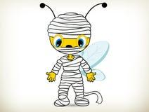 Mummy bee-Halloween Costume Royalty Free Stock Image