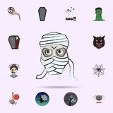 mummy colored icon. Halloween icons universal set for web and mobile royalty free illustration