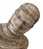 Mummy 3D Illustration. 3D Illustration Of A Mummy Isolated on White Stock Images