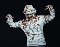 Mummy in the dark Stock Photo