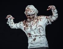 Mummy in the dark Stock Photo