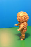 Mummy doll. Mummy a doll. Shake with ropes Royalty Free Stock Images
