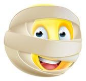 Mummy Emoji Emoticon Stock Image