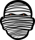 Mummy face Stock Images
