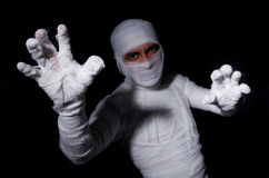 Mummy. In the halloween concept stock photos
