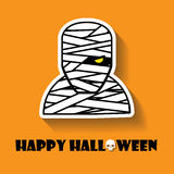 Mummy halloween icon Royalty Free Stock Images