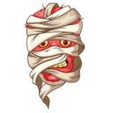 Mummy head cartoon Royalty Free Stock Photos