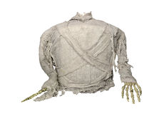 mummy horror for halloween isolate on white background Royalty Free Stock Photos