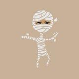Mummy human monster bandage Royalty Free Stock Images