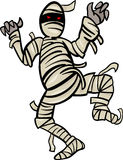 Mummy monster cartoon illustration Stock Photos