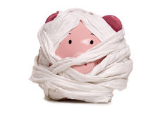 Mummy piggy bank Royalty Free Stock Image