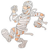 Mummy Screamy Halloween. Illustrator design .eps 10 Royalty Free Illustration