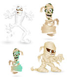 Mummy Vector Characters Royalty Free Stock Photo