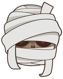 Mummy. Vector clip art illustration royalty free stock images