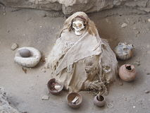 Peruvian Mummy Stock Photos