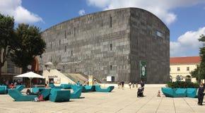 MUMOK -博物馆现代 图库摄影
