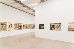 Mumok (博物馆Moderner Kunst)或现代艺术博物馆在维也纳 免版税库存照片