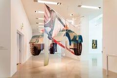 Mumok (museum Moderner Kunst) eller museum av moderna Art In Vienna Royaltyfri Fotografi