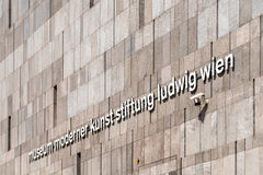 Mumok (Museum Moderner Kunst) Museum of Modern Art In Vienna Stock Photos